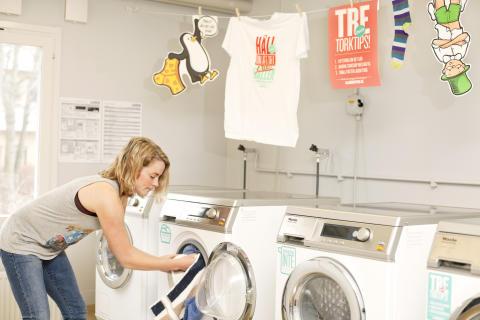 Energisparkampanj tvättstugor