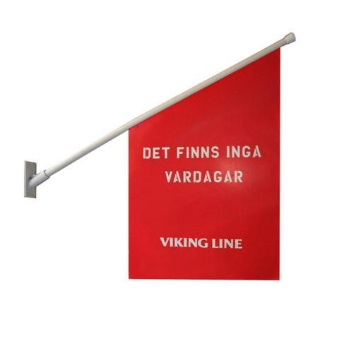 Flagga Viking line