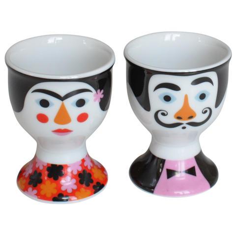Frida & Salvador - Äggkoppar designade av Ingela P Arrhenius!