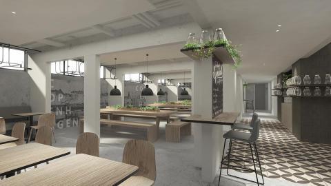 Zleep Hotel Copenhagen Airport morgenmad design
