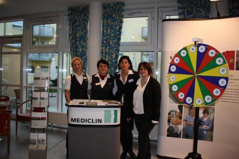 Gesundheitstests und Selbsterfahrungs-Trainings: Das war der Tag der offenen Tür 2015 im MediClin Reha-Zentrum Gernsbach