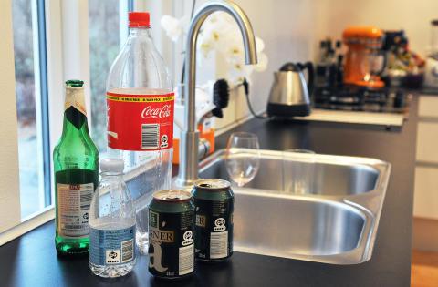 Emballager i køkken