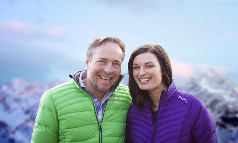 Michael Andreassen og Lise Karlsnes