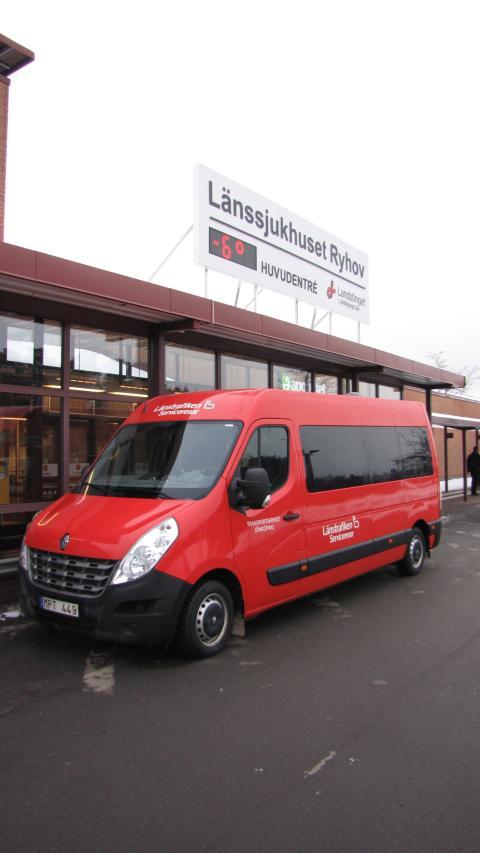Renault Master - sjuktransport i Jönköping