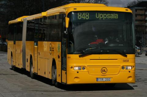 Ledbuss, UL, kollektivtrafik