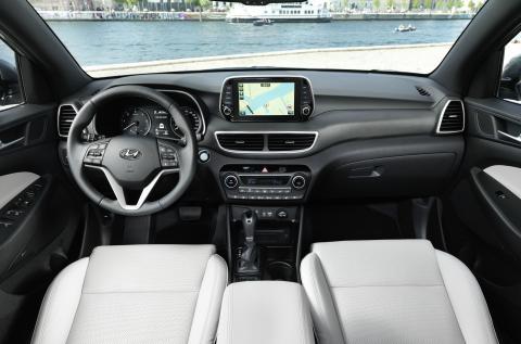 New Hyundai Tucson Interior (1)