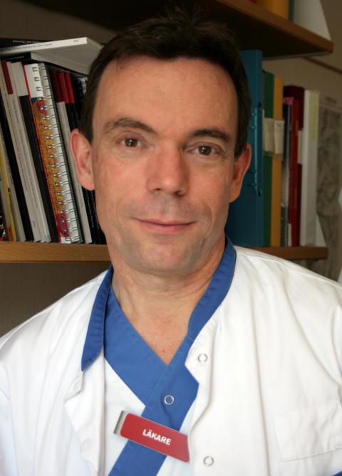 Pär Gerwins, överläkare och expert inom intervention och kärldiagnostik
