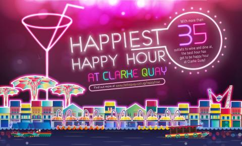 CLARKE QUAY HAPPIEST HAPPY HOUR 2016