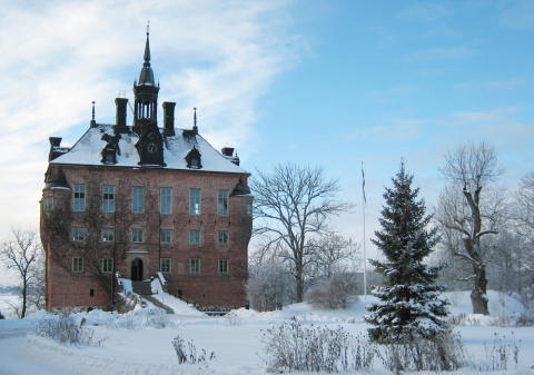 Julmarknad på Wiks slott