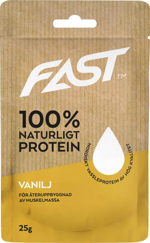 Naturligt Nordiskt Vassleprotein- Vanilj 25g