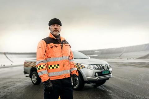 OSL 24-7 - Airport patrol 01 - Kjell Are - foto Vegard Breiep