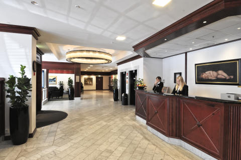Best Western Plus Hotel Norge reception