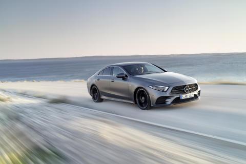 Mercedes-Benz CLS Coupé: Drømmebil  med norske priser