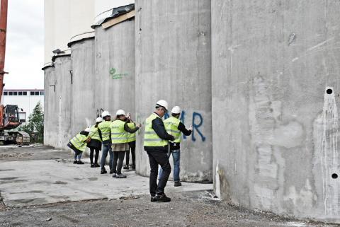 Silosrivning Örebro