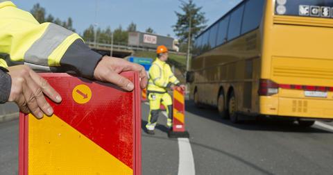 Mitträcken för bättre trafiksäkerhet på E18