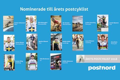 Rösta fram Årets Postcyklist 2018