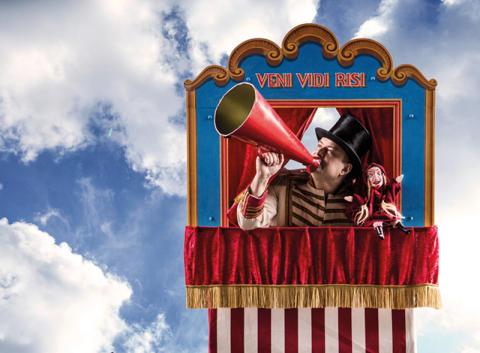 Marionetteatern: Var är vargen?
