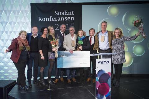 Gammel Nok, Årets sosiale entreprenør 2015