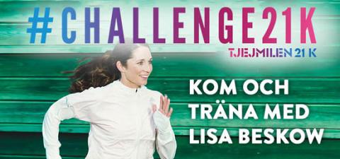 Träningsdag #Challenge21K inför tjejmilen 21K!