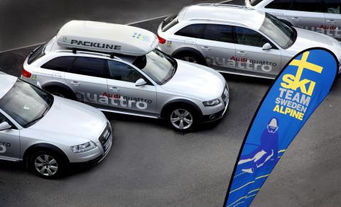 Alpina landslaget kör Audi quattro