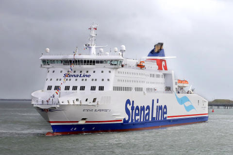 Stena Line over the moon to celebrate 21st birthday