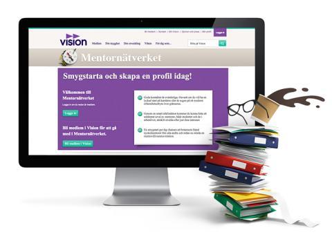 Vision lanserar Mentornätverket