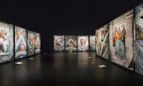 Sista chansen att se Michelangelos  mästerverk på Helsingborgs stadsteater