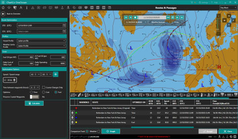 Hi-res image - ChartCo - OneOcean integration with MeteoGroup