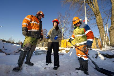 Svevias vägarbetare samarbetar med Umeå Designhögskola