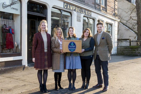 Quality accolade for Highland shop