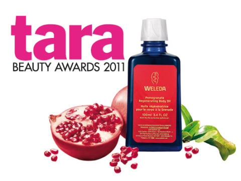 WELEDA - EN VINNARE PÅ TARA BEAUTY AWARDS 2011