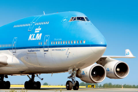 ​Rekordtall for KLM i 2017