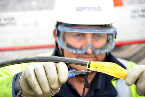 From megabytes to mega-bites: Openreach filing in the gaps for trainee dentist
