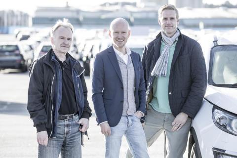 Peter Persson - Wallhamn AB, Jonas Sörensson - Pemco Energi AB och Andreas Hulthén - Wallhamn AB