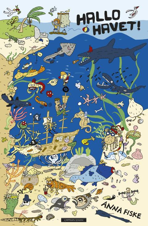 Hallo havet! av Anna Fiske