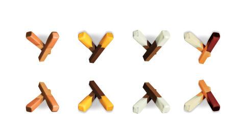 Unika handbakade fudgesticks och -såser från Fudge Kitchen