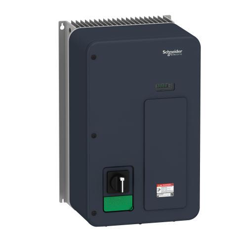 Kompakt og kraftfuld frekvensomformer i IP66- og IP65-kapsling
