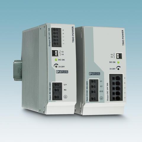 Nye strømforsyninger for maskinteknikk