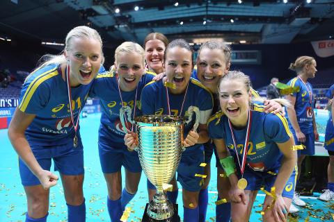 Sverige vann VM-guld 2013