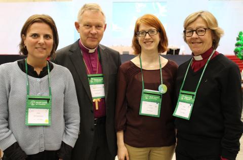 Equmeniakyrkans biträdande kyrkoledare omvald till kyrkornas FN