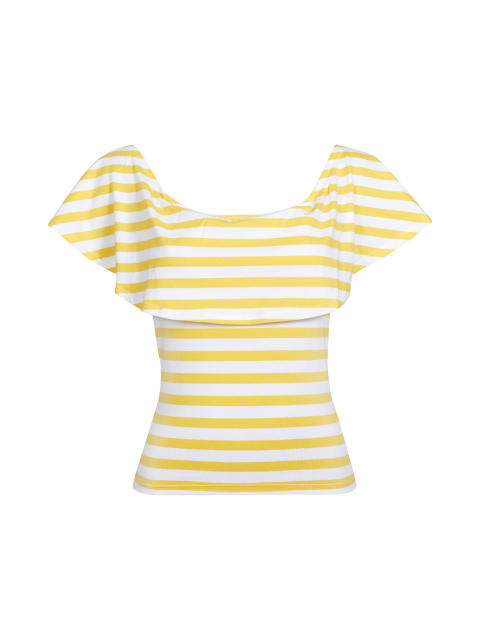 Tilly top_yellow
