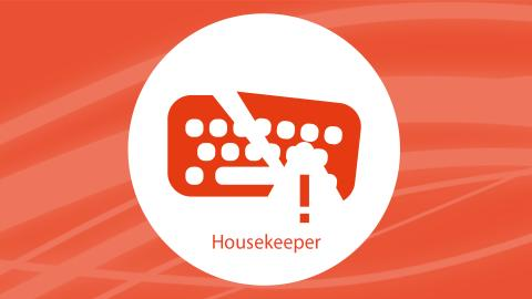 Broken printer at the office? Use Housekeeper to inform your colleagues.