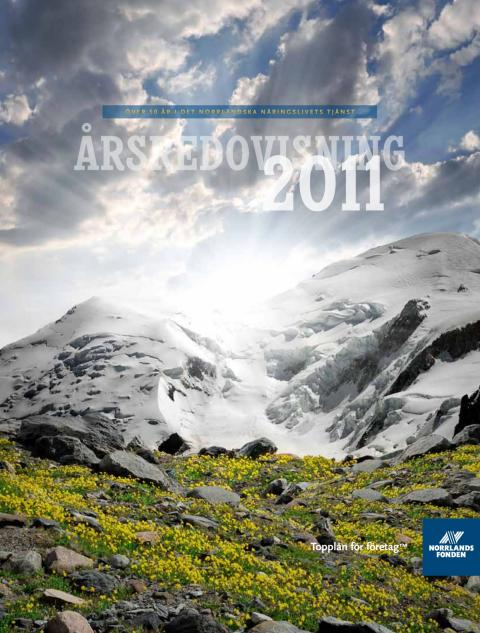Norrlandsfondens årsredovisning 2011