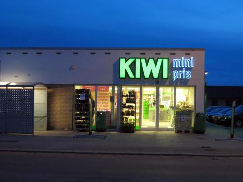 En Kiwibutikk