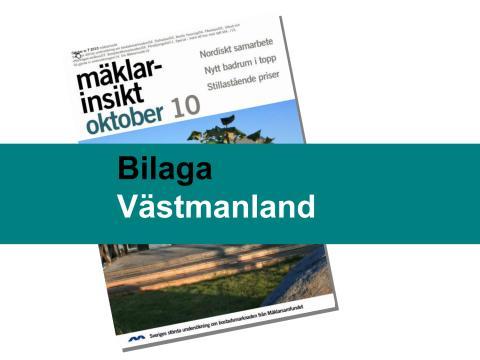 Mäklarsamfundet oktober 2010: Västmanland