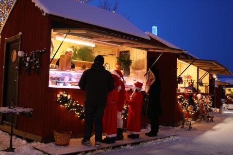 Julemarked i Kosta