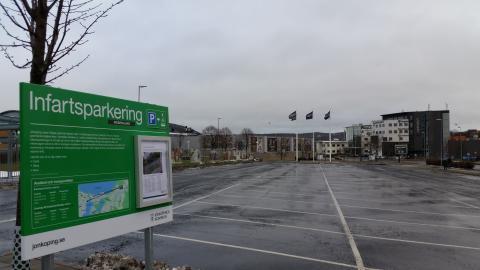 Nu får Jönköping infartsparkeringar