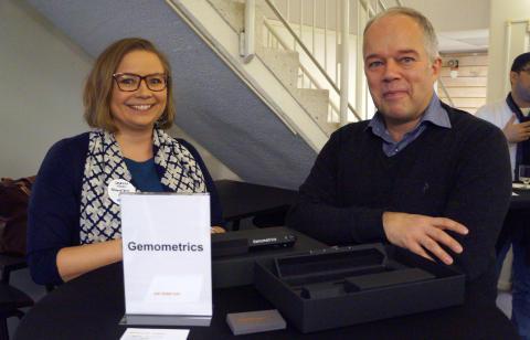 Gemometrics vinner Red Dot Design Award för sitt verktyg som kan avslöja falska diamanter