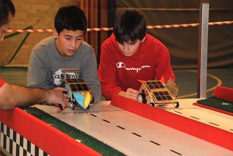 Unga bilbyggare i stor final i Solracet
