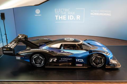 Eldriven motorsport: Världspremiär för nya Volkswagen ID. R